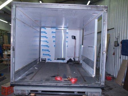 Wohnkabine für Container-LKW